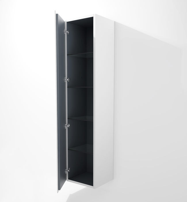 Duravit L Cube 400x363mm Tall Cabinet Left Hinges