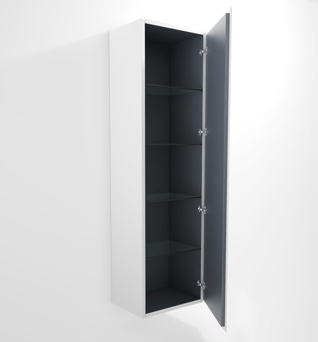 Duravit L Cube 500x363mm Tall Cabinet Right Hinges