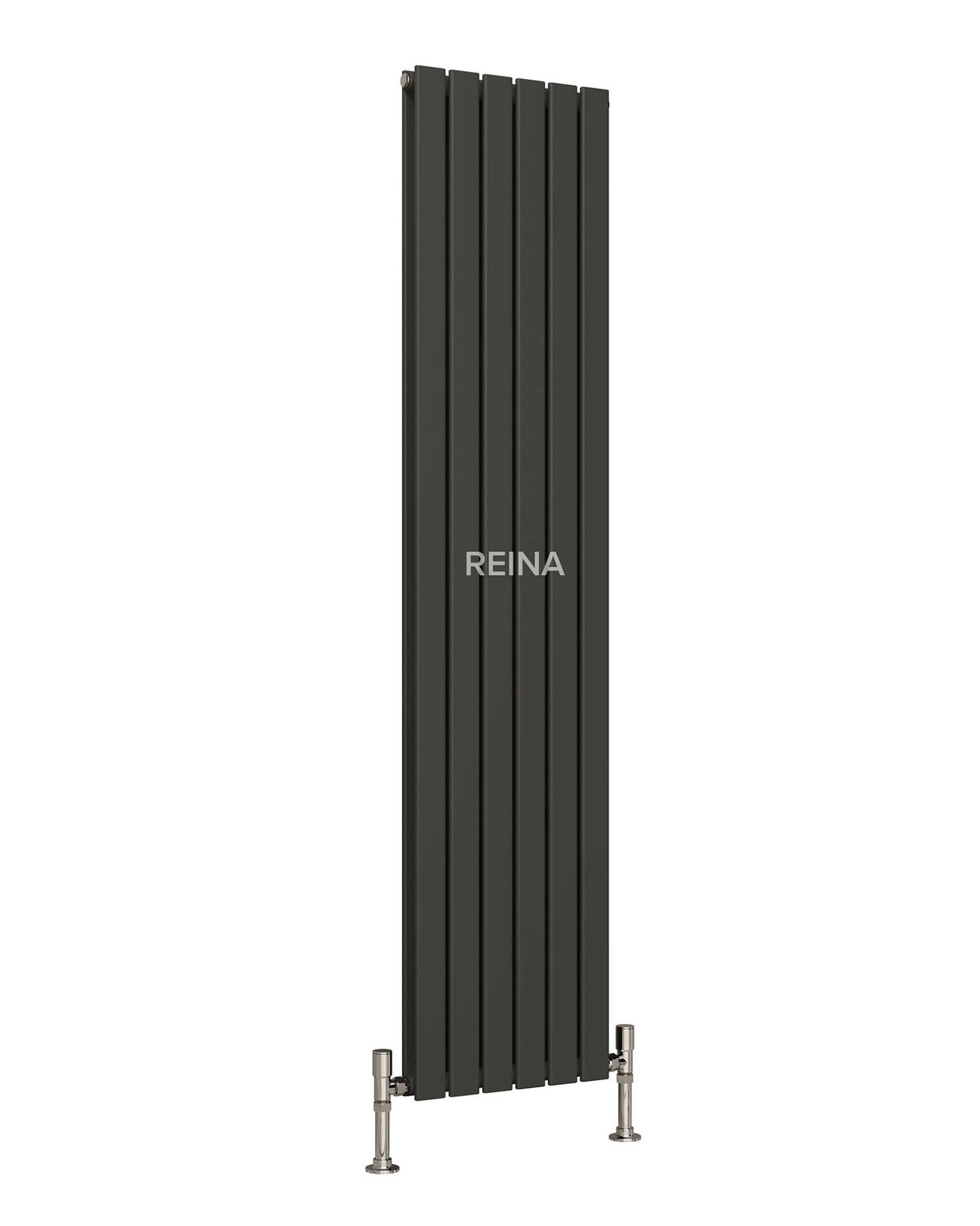 reina flat vertical double panel radiator 440 x 1800mm. Black Bedroom Furniture Sets. Home Design Ideas