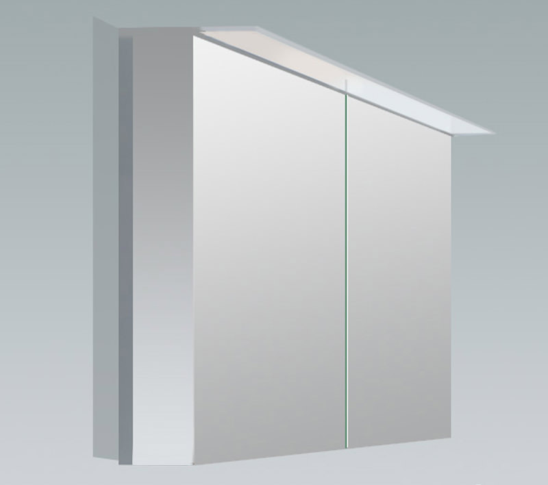 Duravit X Large 800mm 2 Door Mirror Cabinet With Led