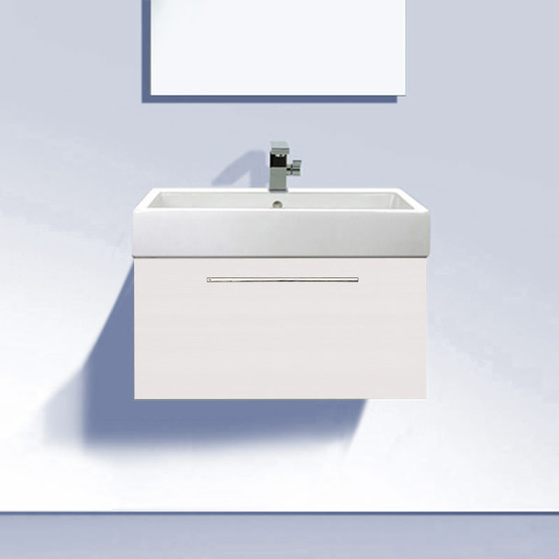 Duravit Wall Hung Basin : Duravit Fogo 550mm Vanity Unit With 600mm Vero Basin - FO955401818