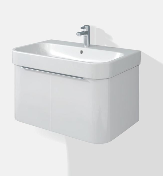 Duravit Happy D2 Two Doors Vanity Unit With Basin - H2626802222
