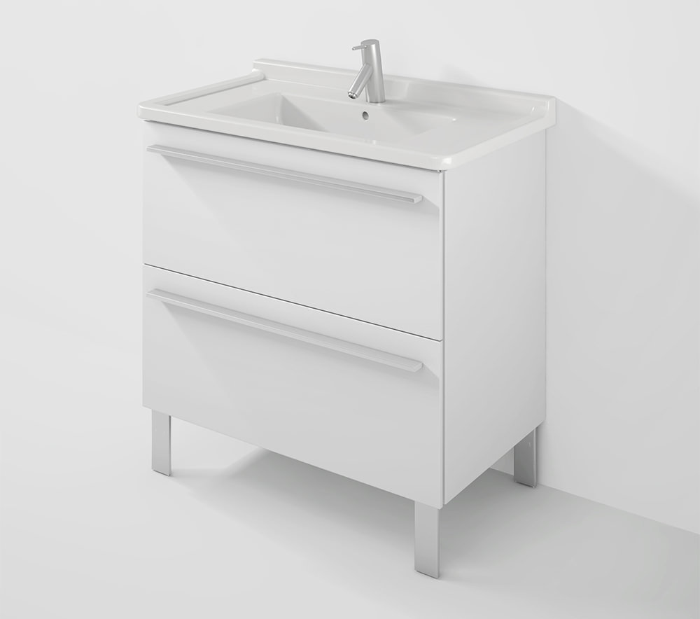 Duravit x large 800mm wall mounted unit with 850mm starck for Duravit starck