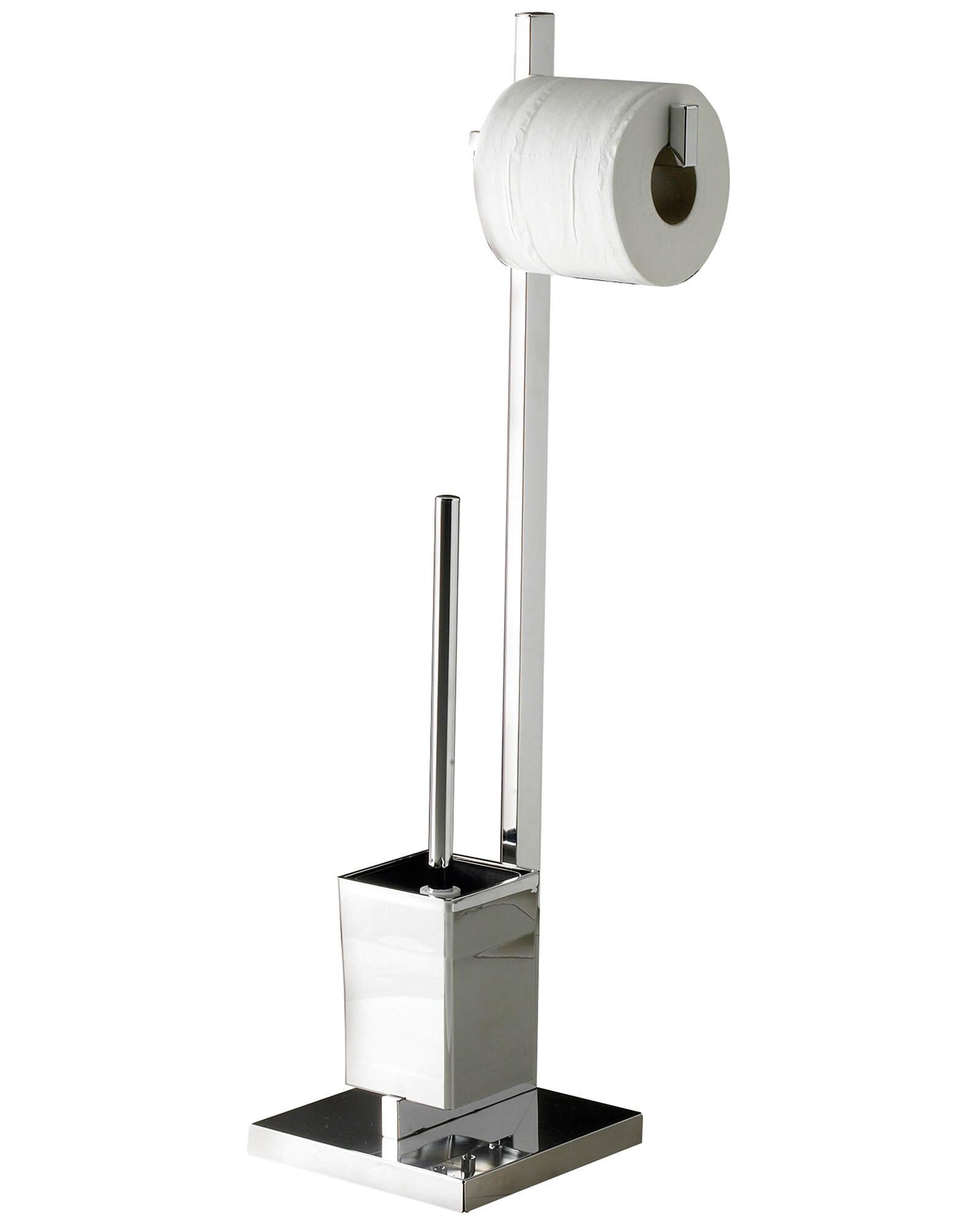 Sagittarius Madison Free Standing Toilet Brush And Roll