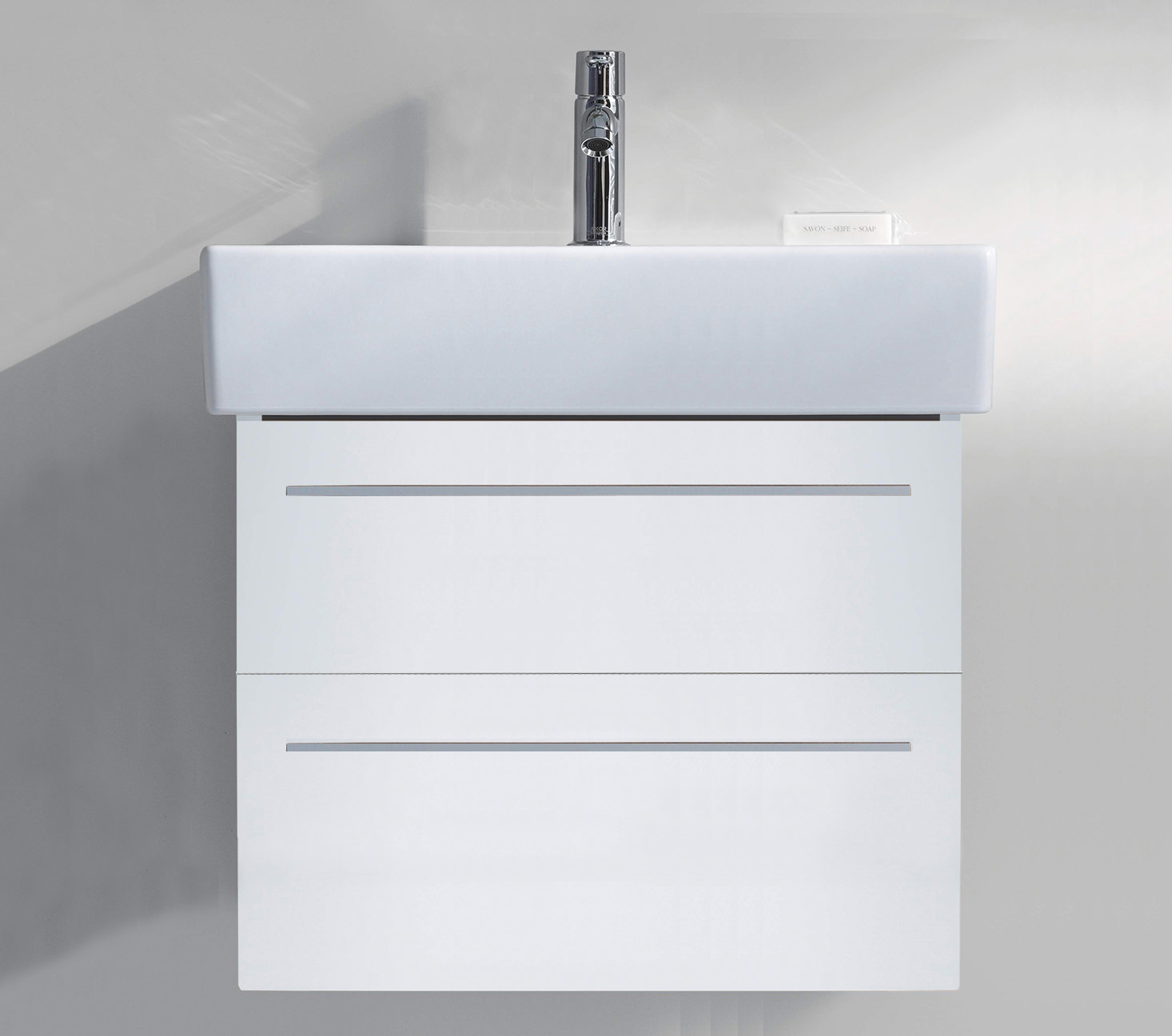 Duravit x large 950mm 2 drawer unit with 1000mm vero for 1000mm kitchen drawer unit