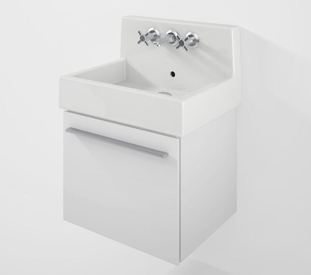 duravit x large 550mm vanity unit with 600mm vero back panel basin xl6044. Black Bedroom Furniture Sets. Home Design Ideas