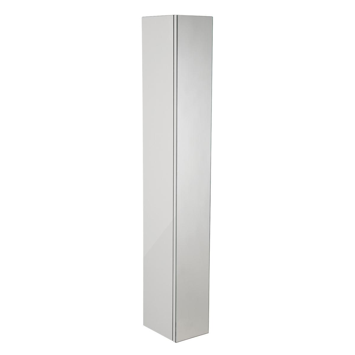 Roper rhodes scheme 1400 x 250mm tall cabinet schcd1400 gw for Bathroom cabinets 250mm
