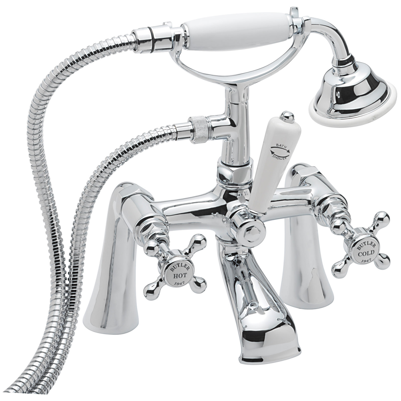 Sagittarius Butler Bathroom Taps - QS Supplies