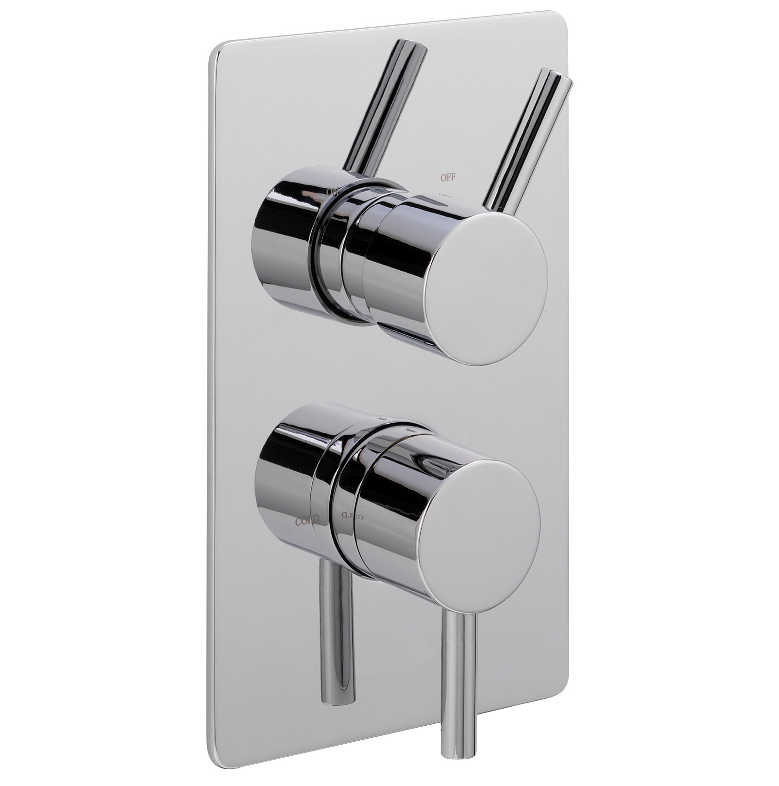 Sagittarius Ergo Concealed Thermostatic Valve With 2 Way