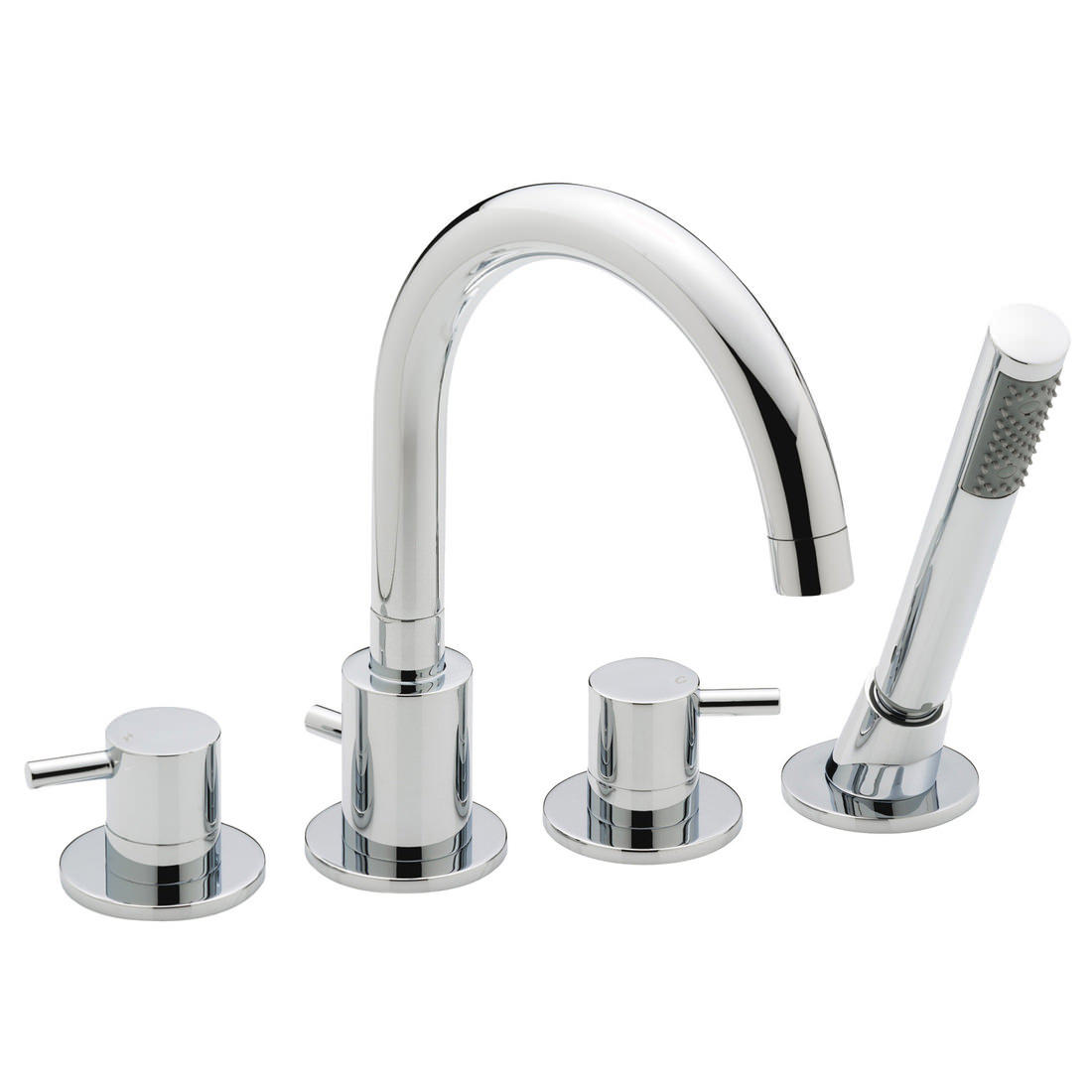 sagittarius ergo 4 hole deck mounted bath shower mixer tap el 114 c sagittarius ergo 4 hole deck mounted bath shower mixer tap