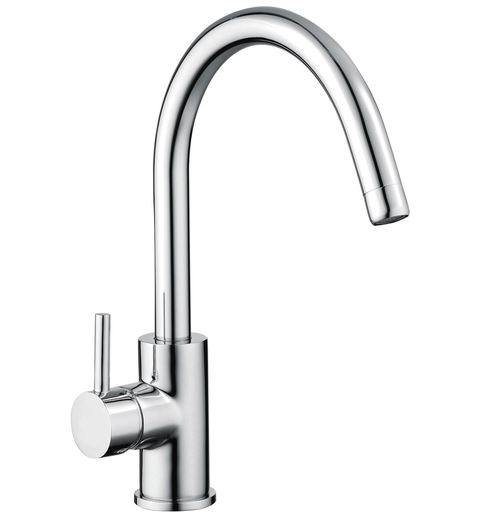 Sagittarius ergo side lever monobloc kitchen sink mixer for Bathroom taps
