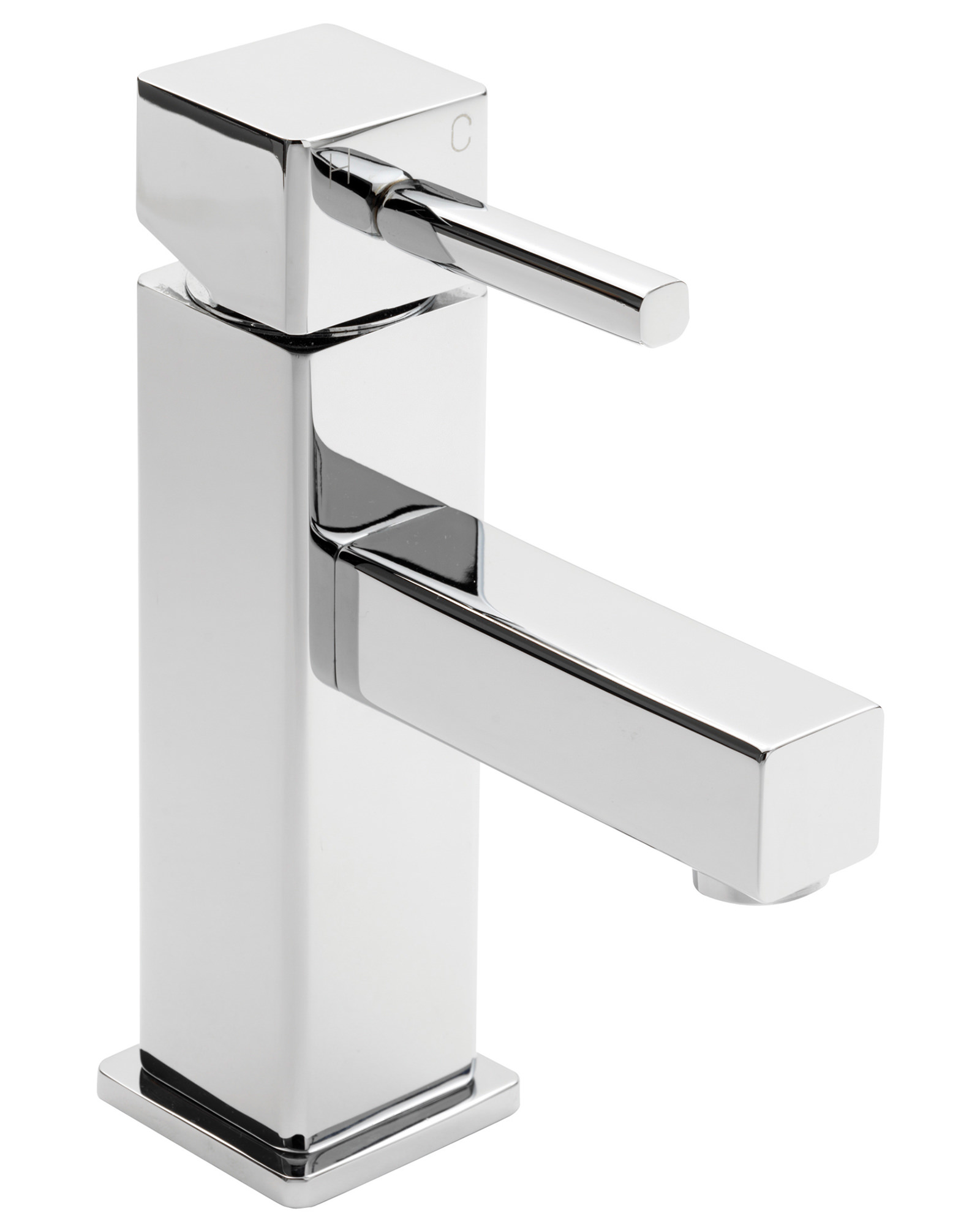 sagittarius pablo monobloc basin mixer tap with sprung. Black Bedroom Furniture Sets. Home Design Ideas