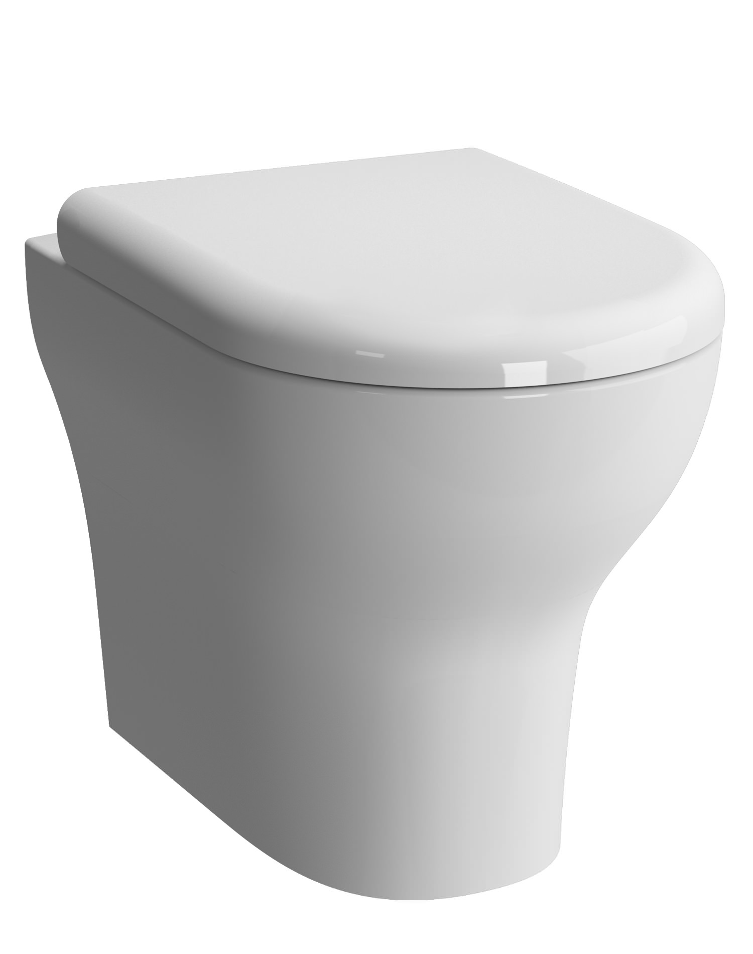 Vitra Zentrum 355 X 520mm Back To Wall Wc Pan With Toilet