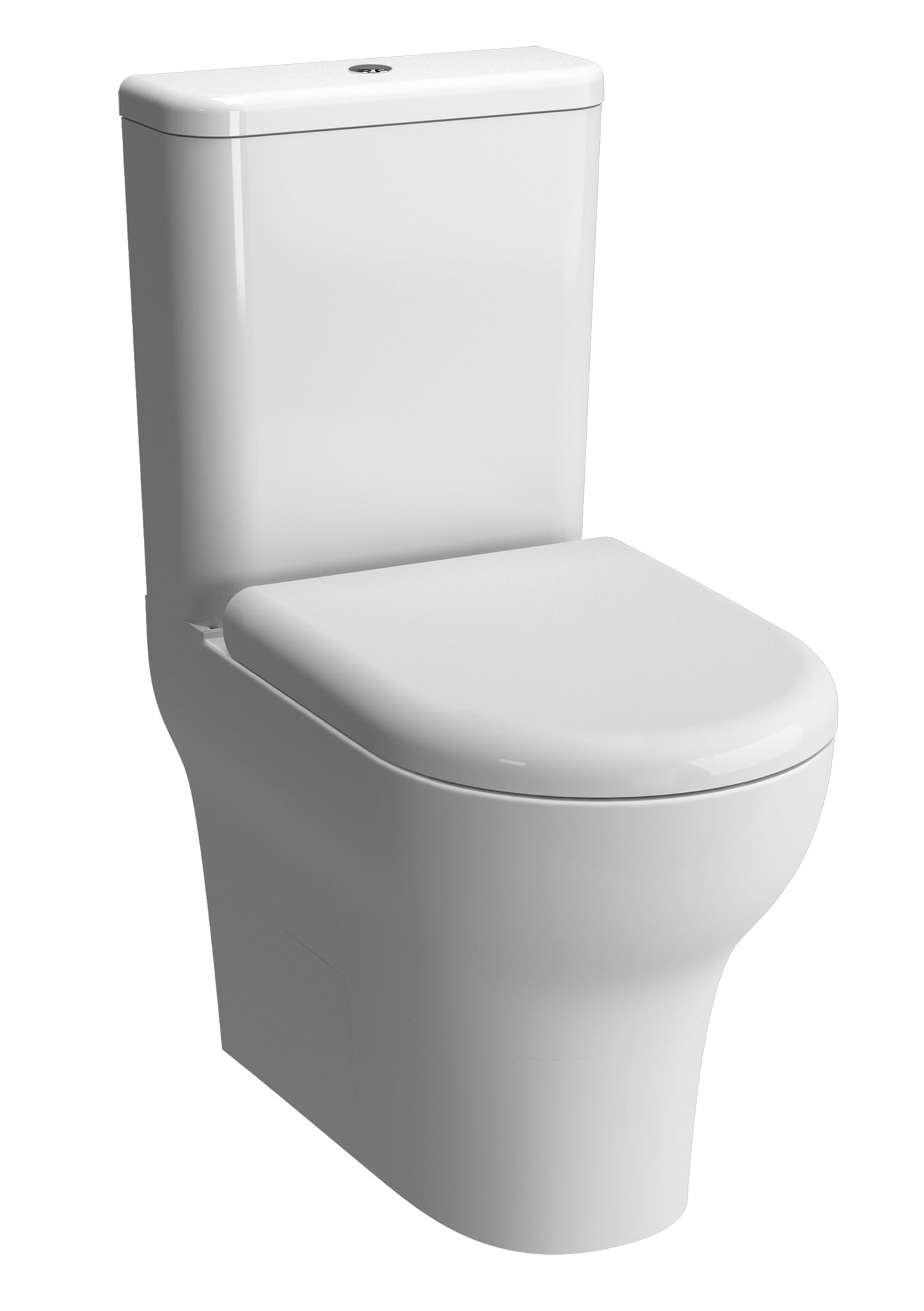 vitra zentrum closed back close coupled wc pan with. Black Bedroom Furniture Sets. Home Design Ideas