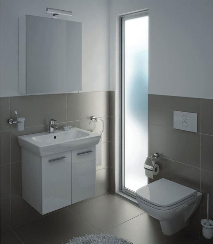 VitrA S20 High Gloss White Finished 65cm Vanity Unit And Basin