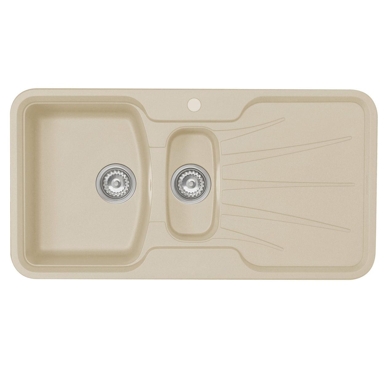 Rok Granite Sinks : ... Korona 1.5 Bowl Composite ROK Granite Inset Sink - KO15RHHOMESK