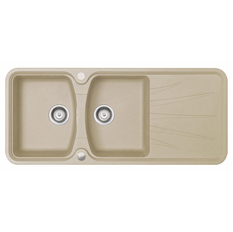 Rok Granite Sinks : ... Korona 2.0 Bowl Composite ROK Granite Inset Sink - KO20RHHOMESK