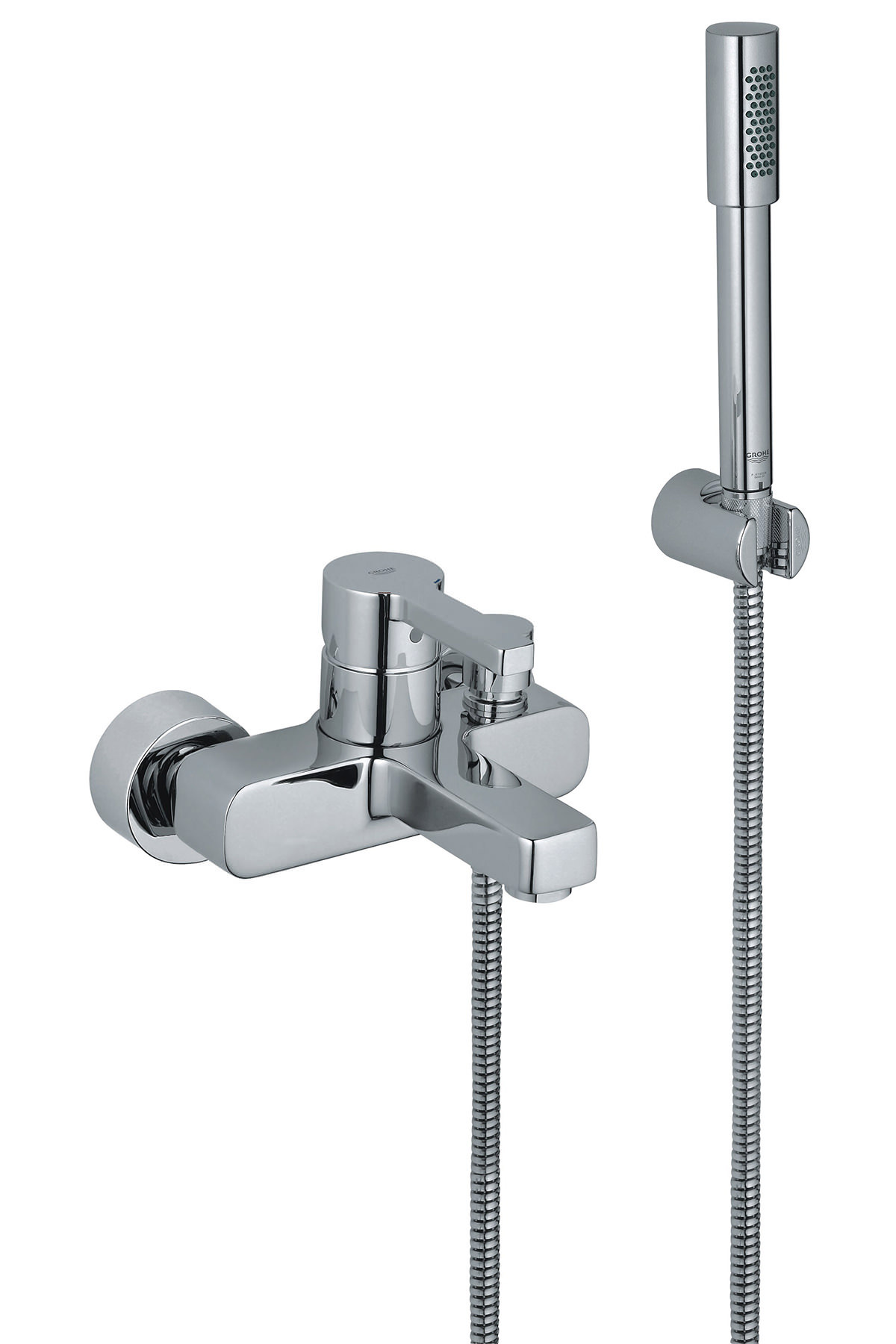 grohe lineare bath shower mixer tap with shower kit. Black Bedroom Furniture Sets. Home Design Ideas