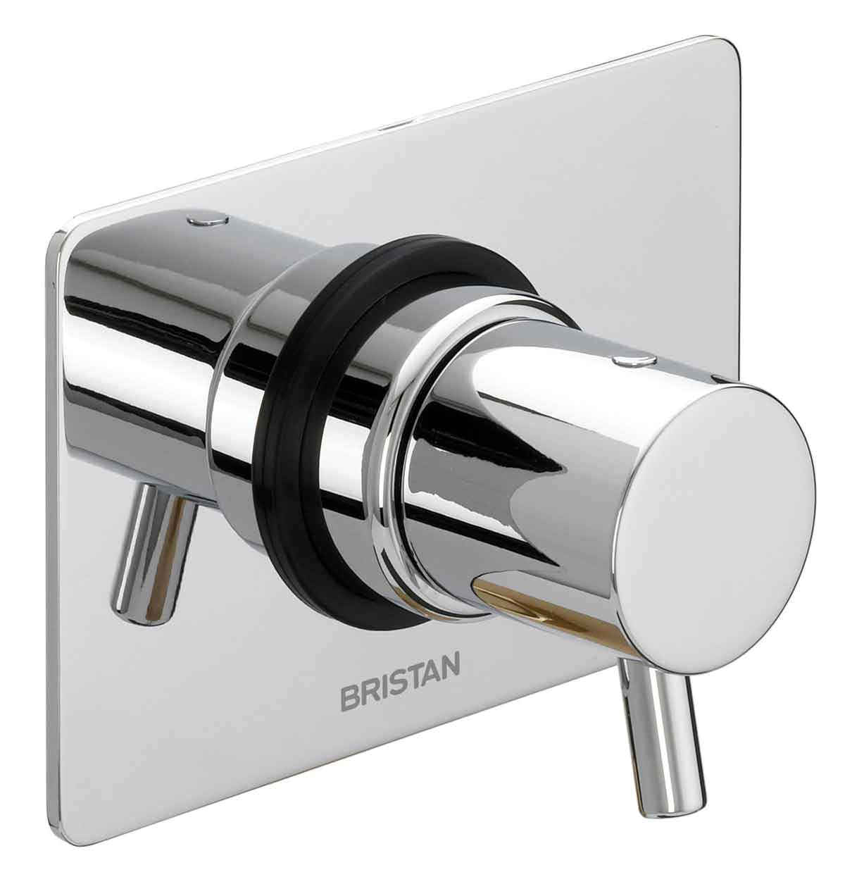 bristan prism shower diverter tap two outlets pm 3wdiv c - Shower Diverter