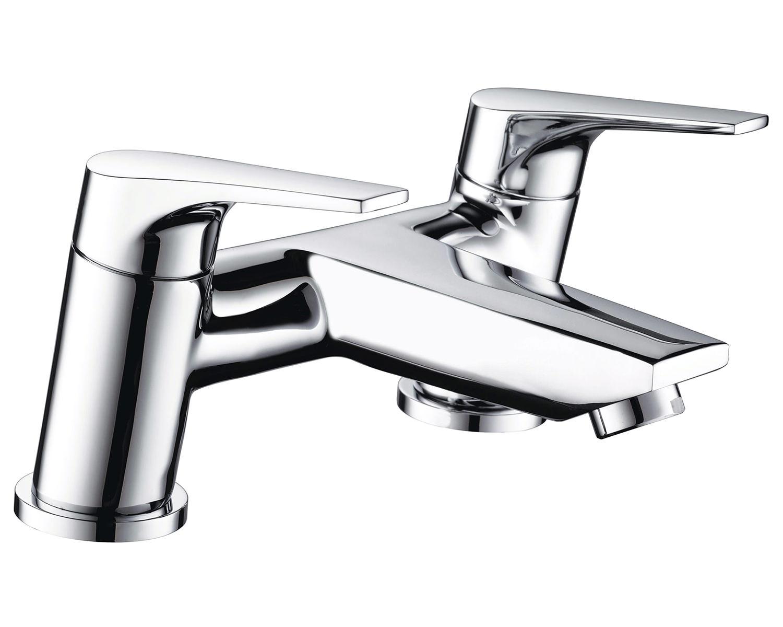 Chrome Bristan Kitchen Taps: Bristan Vantage Chrome Plated Bath Filler Tap
