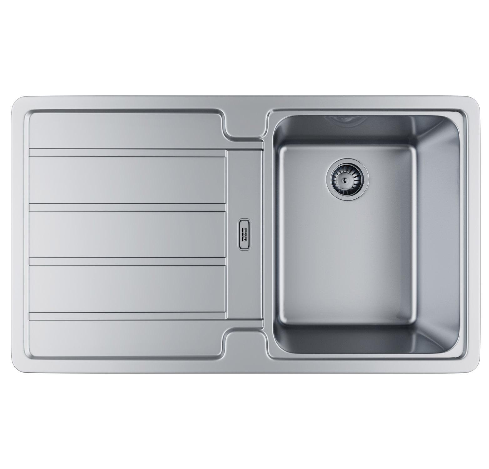 ... sink franke hydros hdx 614 stainless steel 1 0 bowl kitchen inset sink