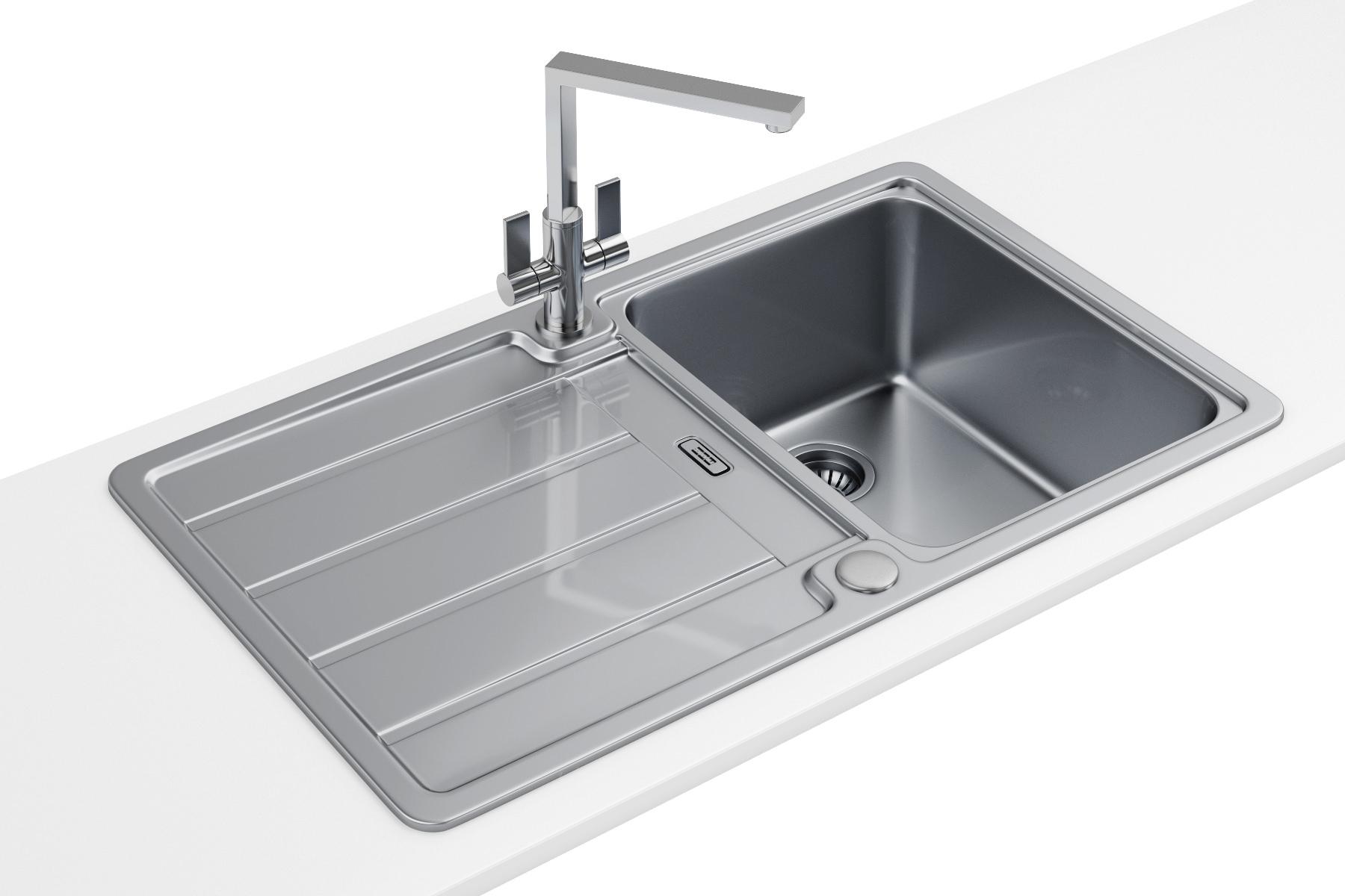 Franke Hydros Hdx 614 Stainless Steel 1 0 Bowl Kitchen