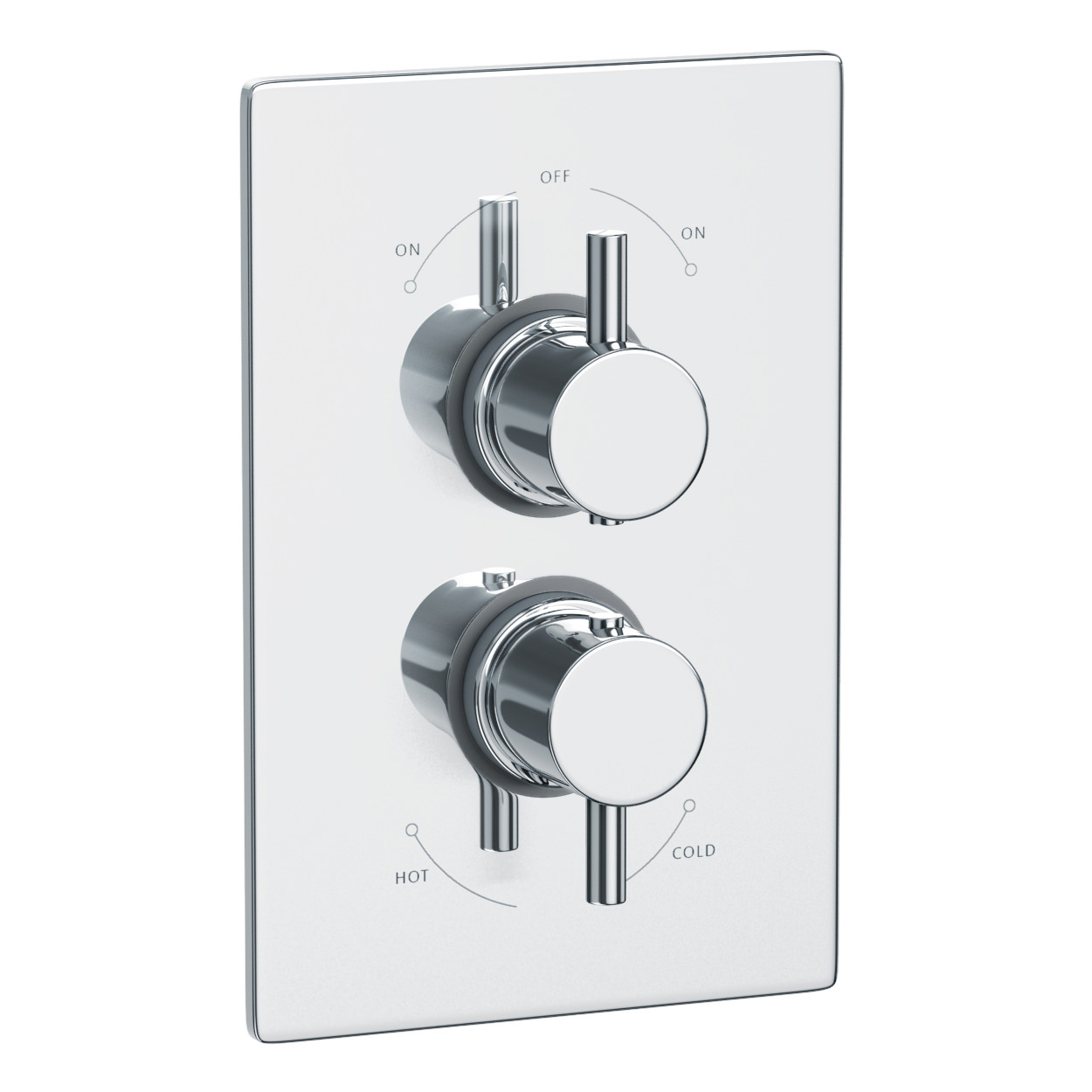 Abode Euphoria Thermostatic Shower Mixer Valve With 2 Exit Ab2217