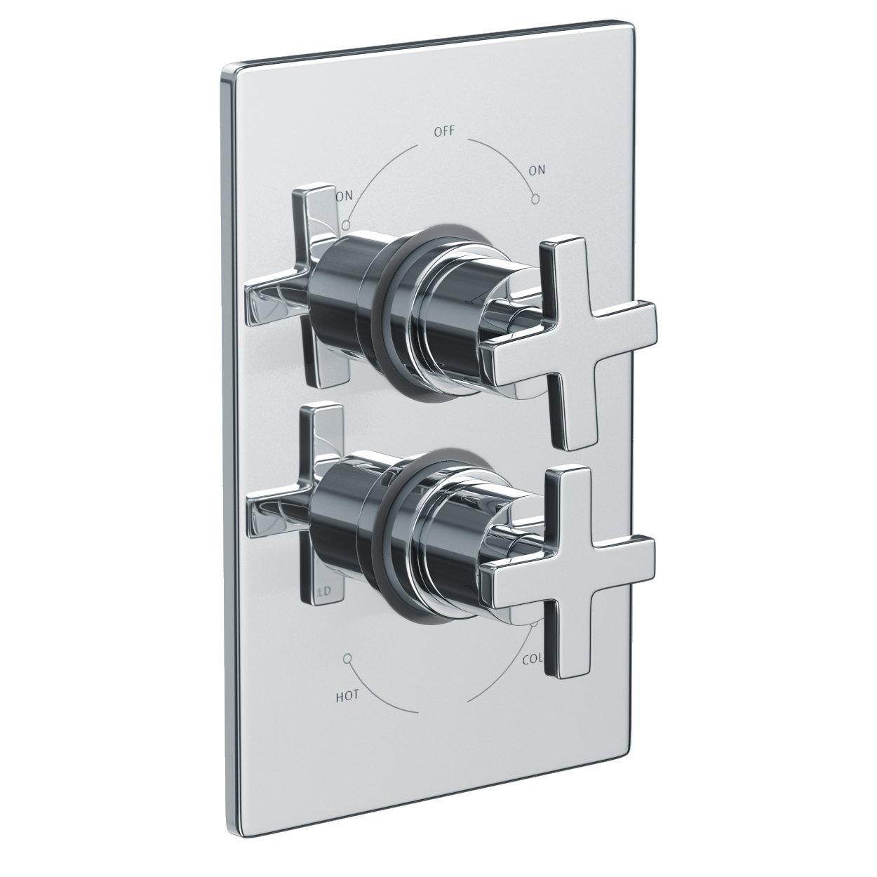 Abode Euphoria Concealed Thermostatic Shower Mixer Valve   AB2218 ...