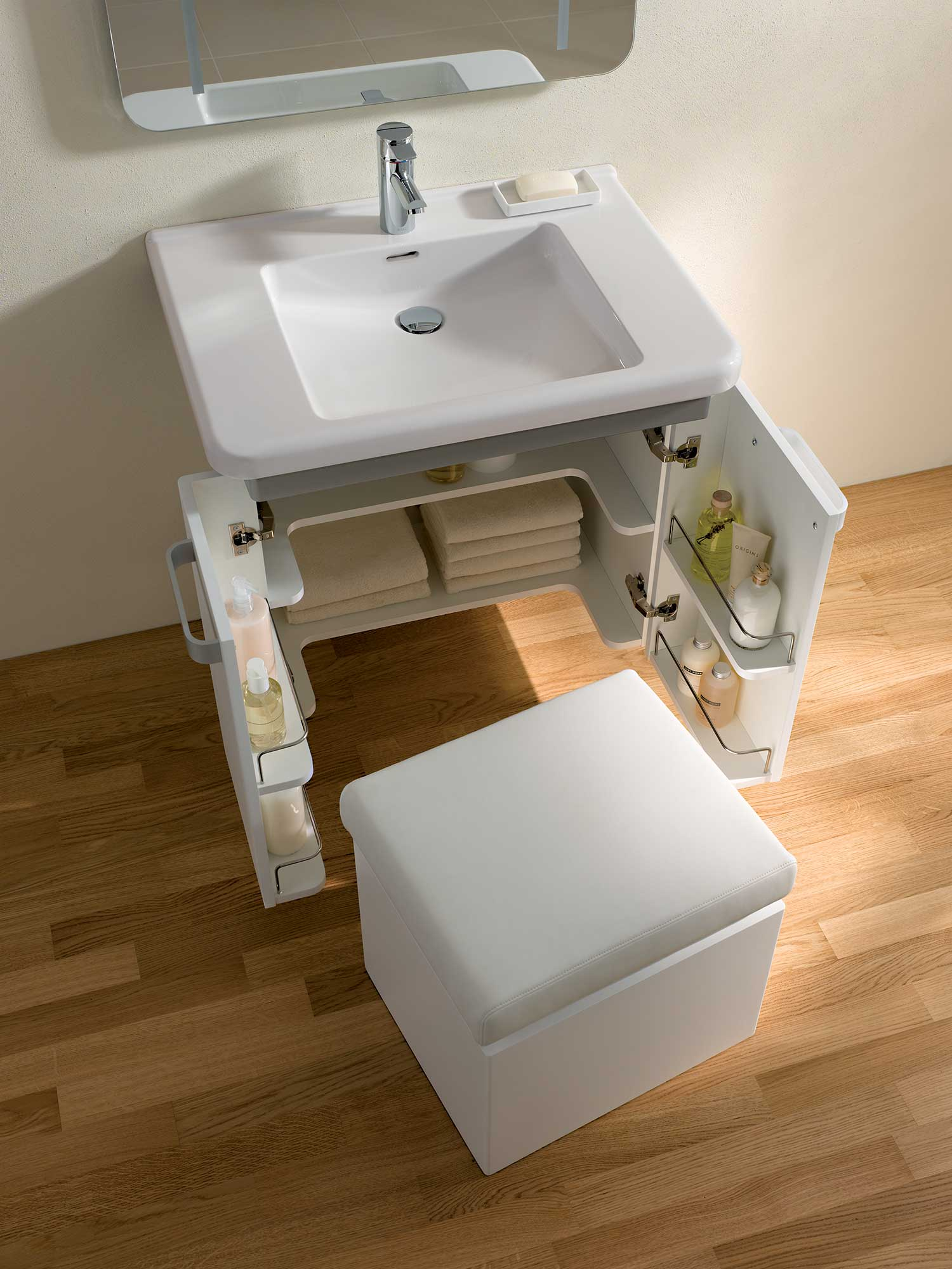 Unique Rattan Bathroom Storage White Storage Bench White Bathroom Bench With