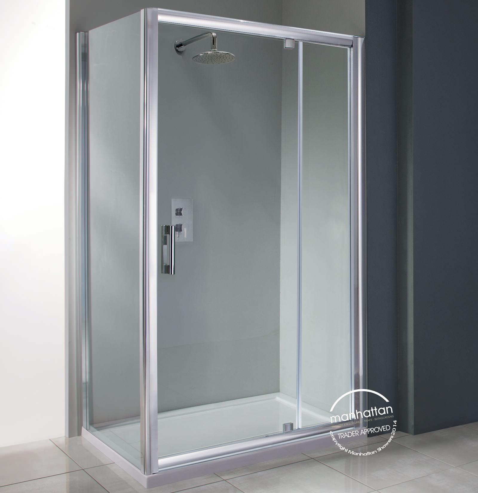 Manhattan 6 pivot shower door 1200mm for 1200mm shower door