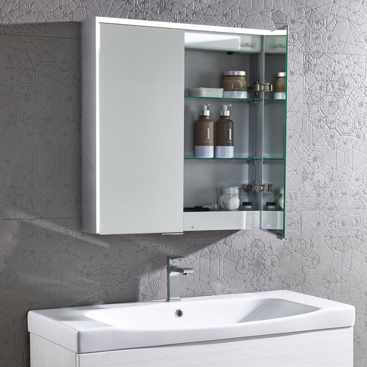 Roper Rhodes Compose Bluetooth Mirror Cabinet | CP65AL