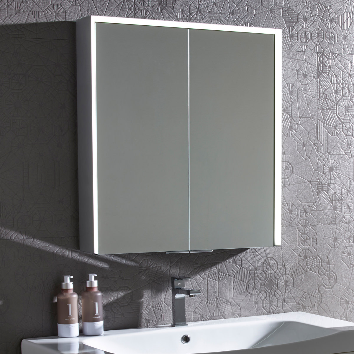Roper Rhodes Lyric Bluetooth Illuminated Mirror Cabinet