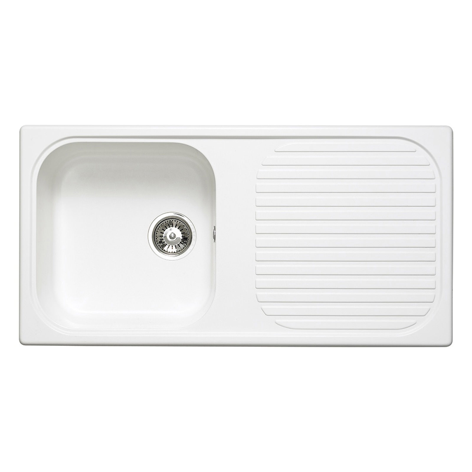 Astracast Msk   Bowl Composite White Kitchen Sink