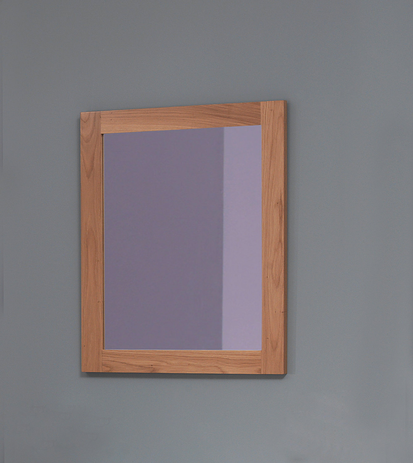 Silverdale traditional 800 x 650mm light oak mirror - Traditional bathroom mirror with lights ...