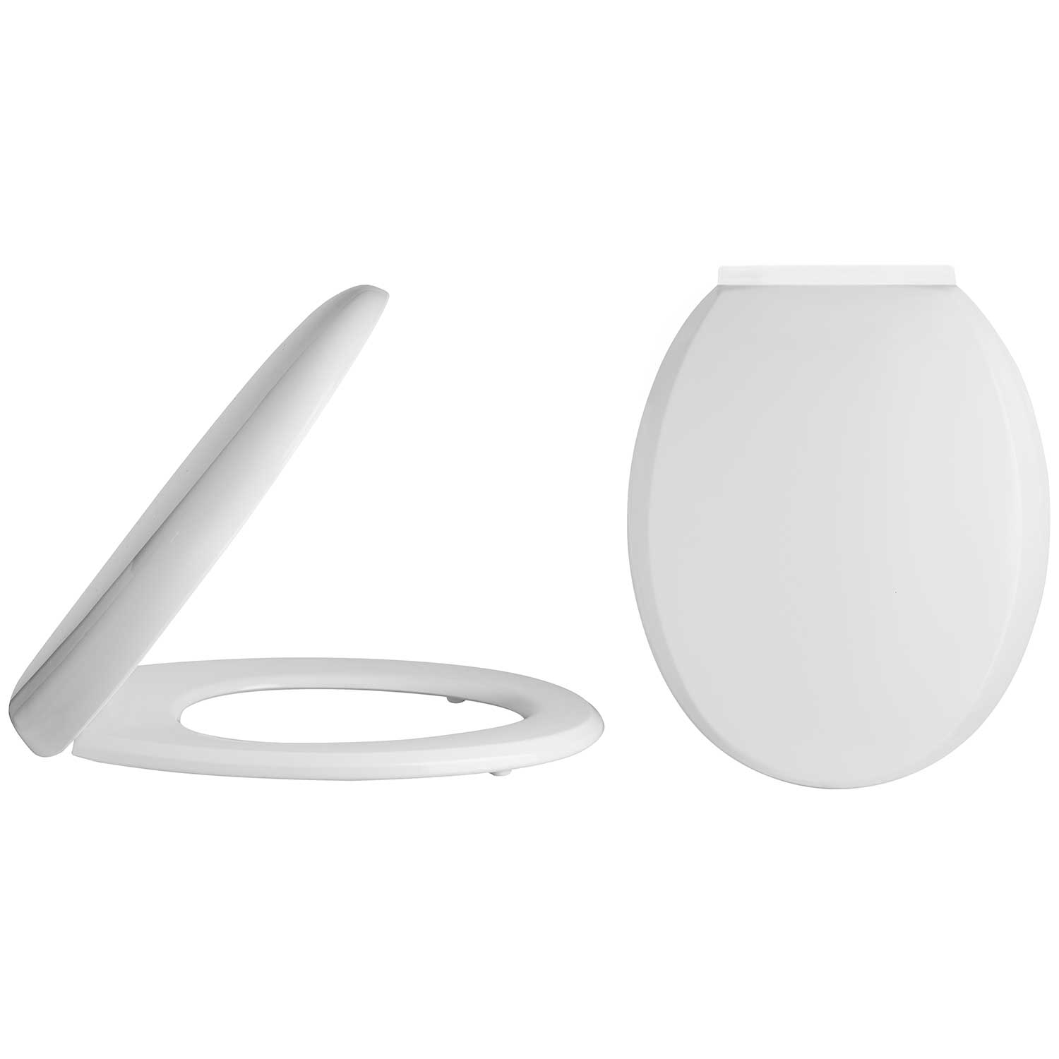 Lauren Standard Round Soft Close Toilet Seat With Top Fix Hinges NTS008
