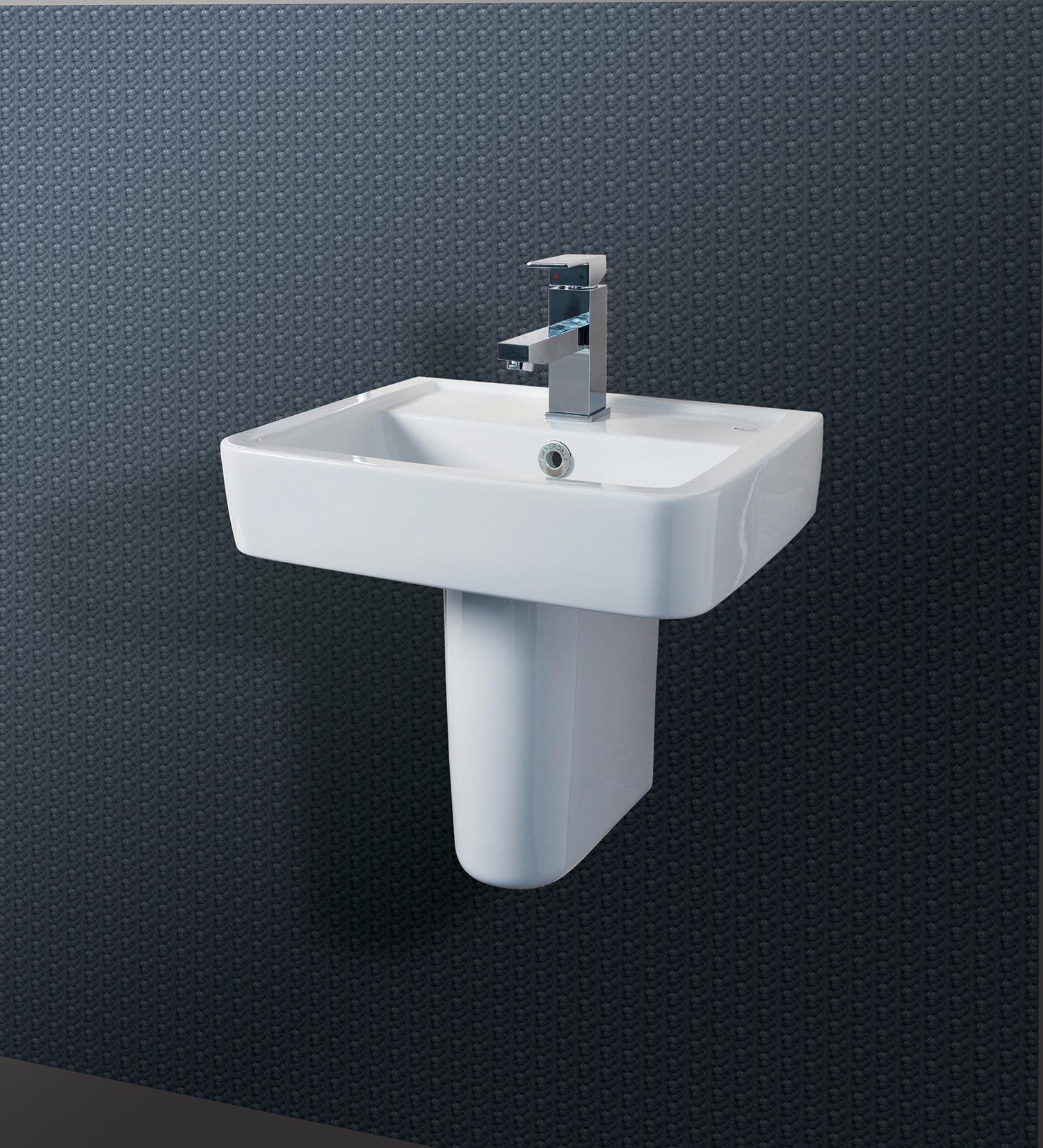 Silverdale Henley 450mm Cloakroom Basin Silhe645