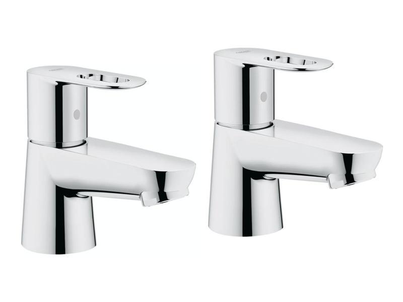 grohe bauloop pair of basin taps 2042200m. Black Bedroom Furniture Sets. Home Design Ideas
