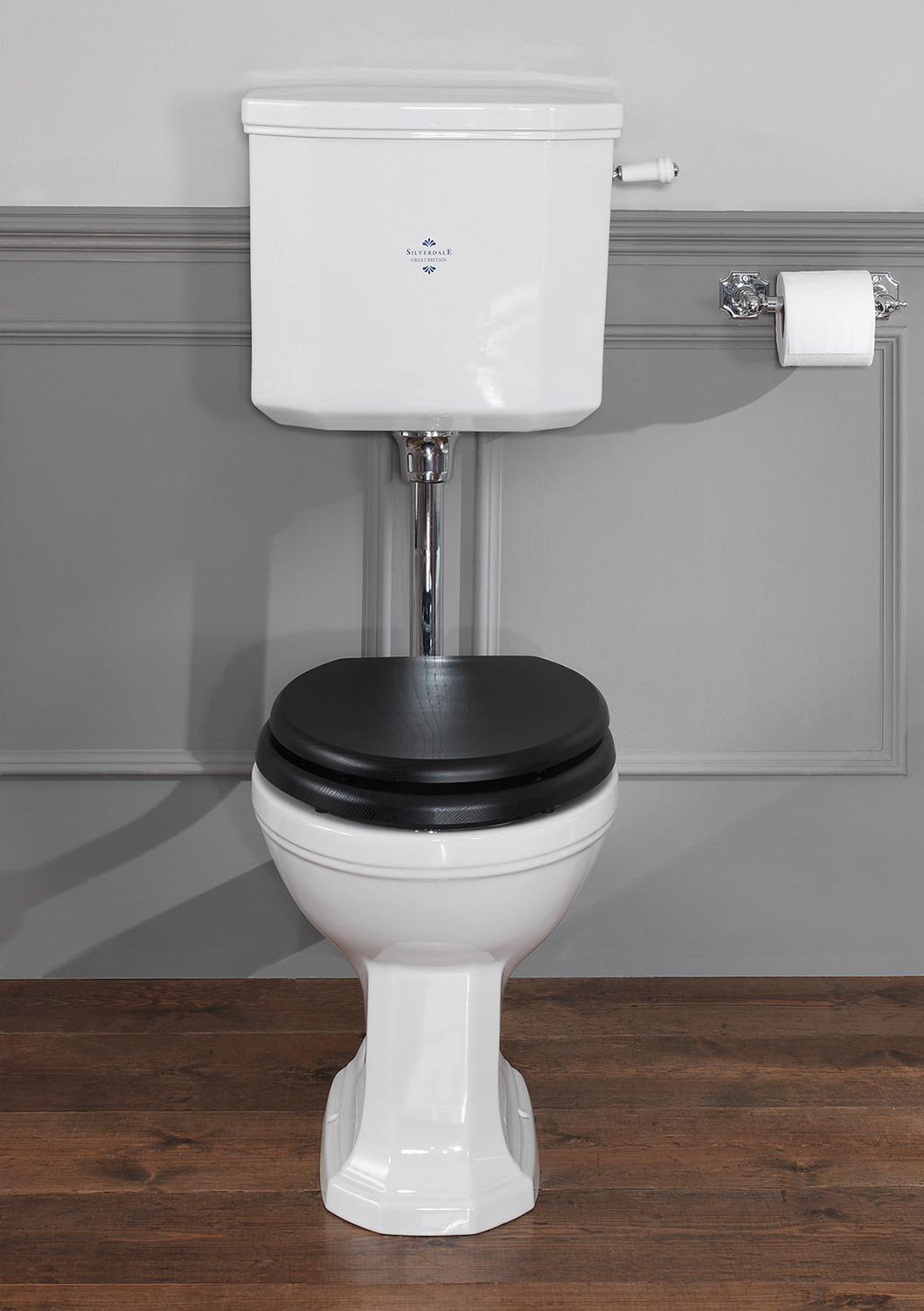 Bathroom cistern fittings - Silverdale Empire Low Level Wc Pan With Cistern And Fittings
