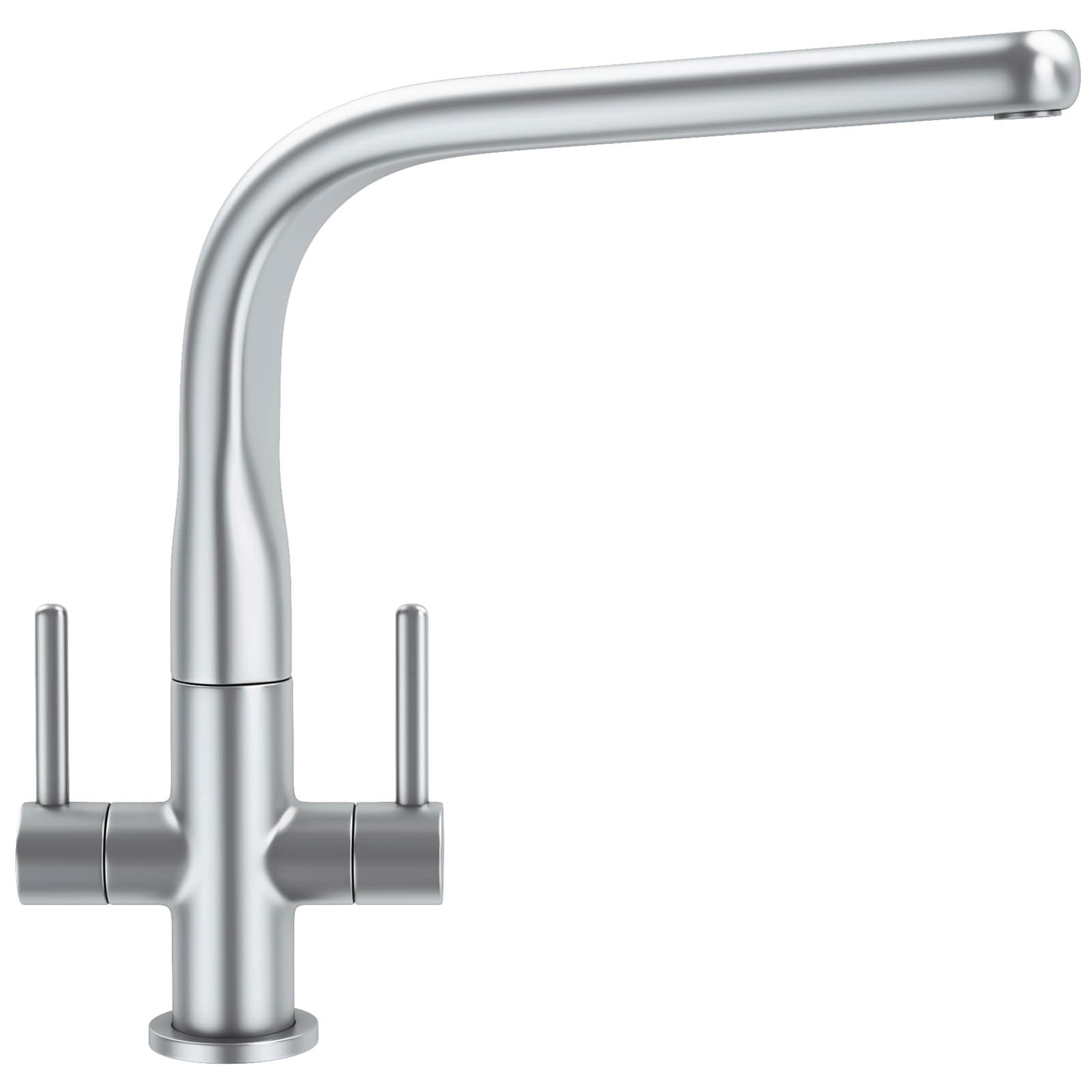 Franke Sinos Kitchen Sink Mixer Tap SilkSteel - 115.0277.028