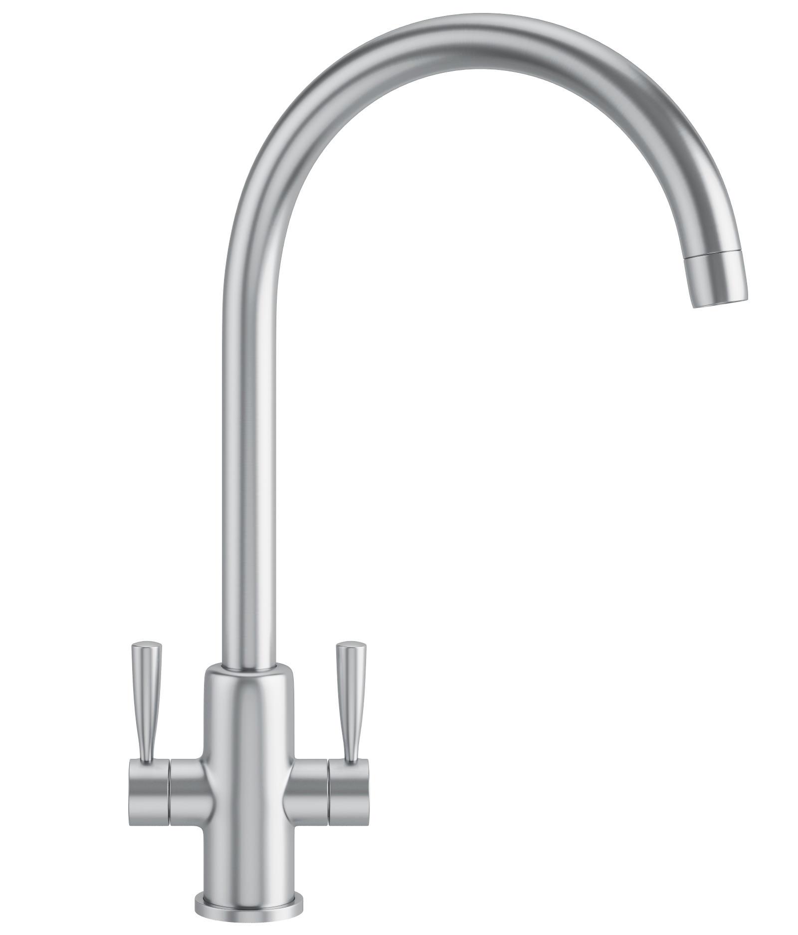 Franke Ascona Kitchen Sink Mixer Tap SilkSteel 1150250636