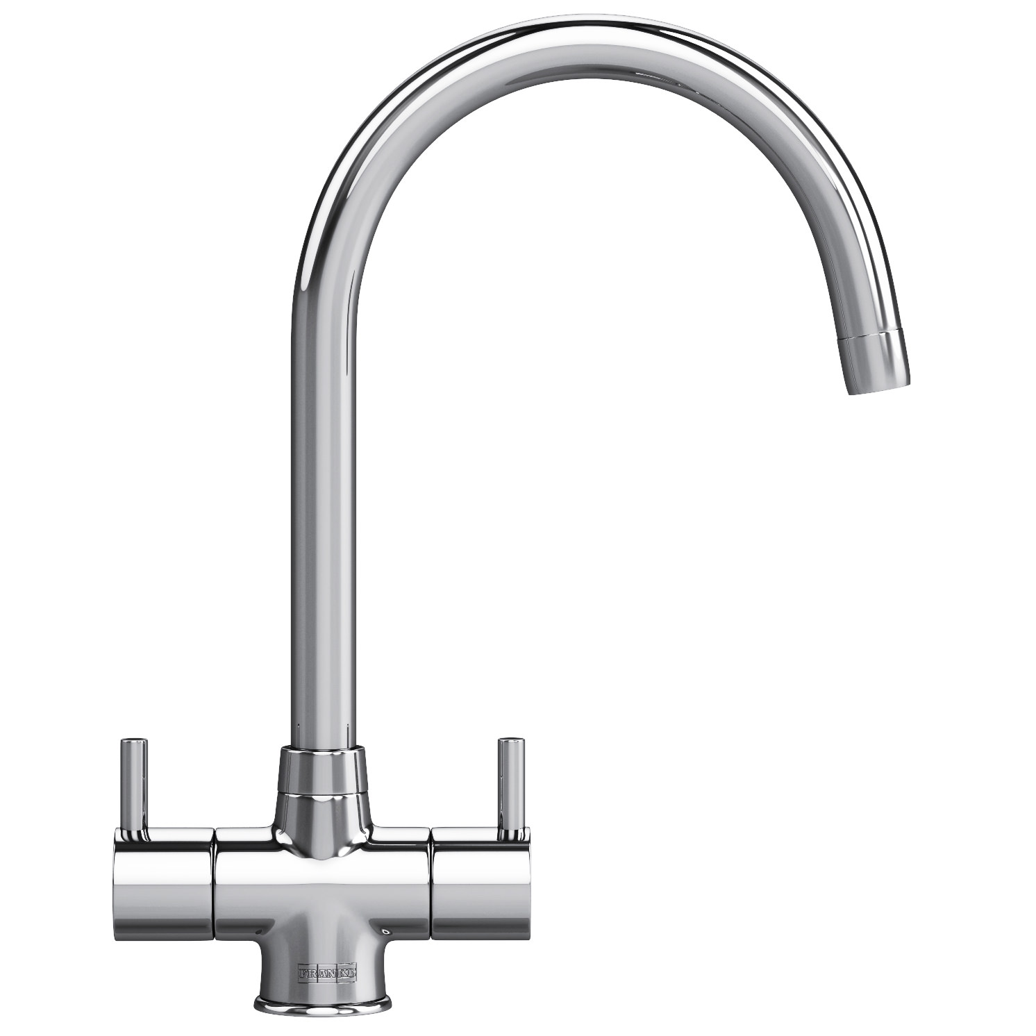 franke athena kitchen sink mixer tap chrome - Kitchen Sink Mixer Taps