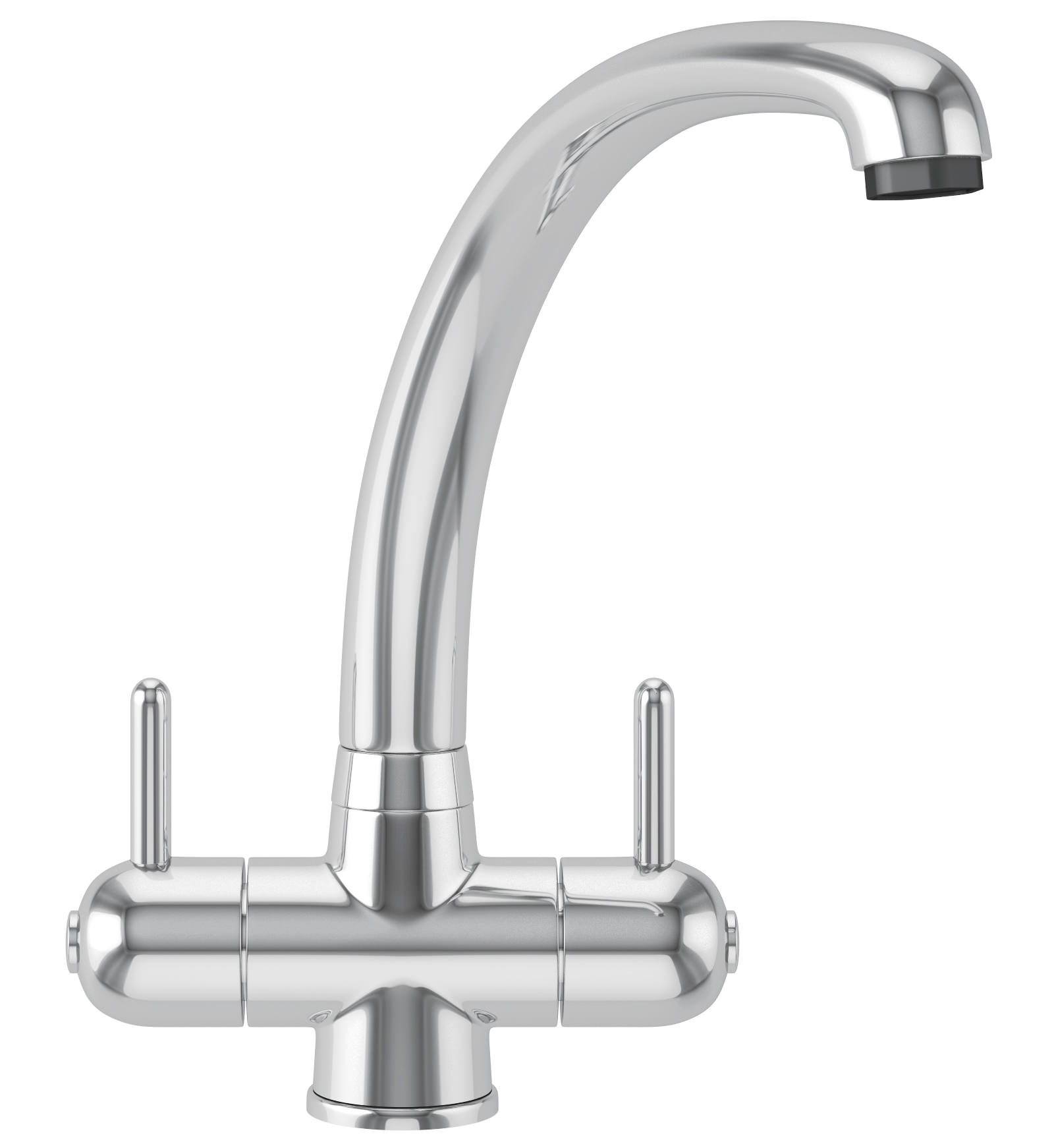 franke zurich kitchen sink mixer tap chrome - Kitchen Sink Mixer Taps