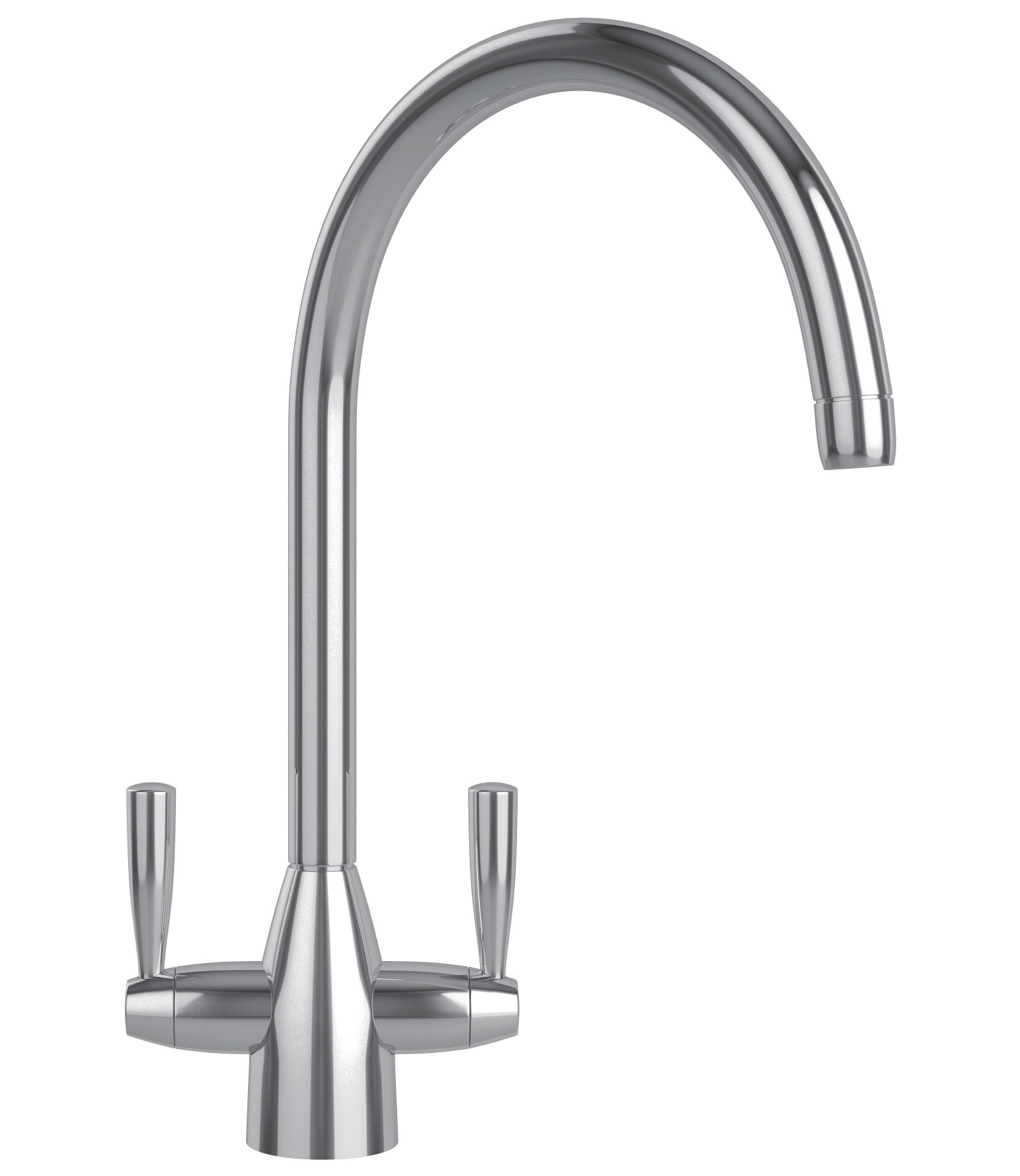 franke eiger kitchen sink mixer tap chrome - Kitchen Sink Mixer Taps