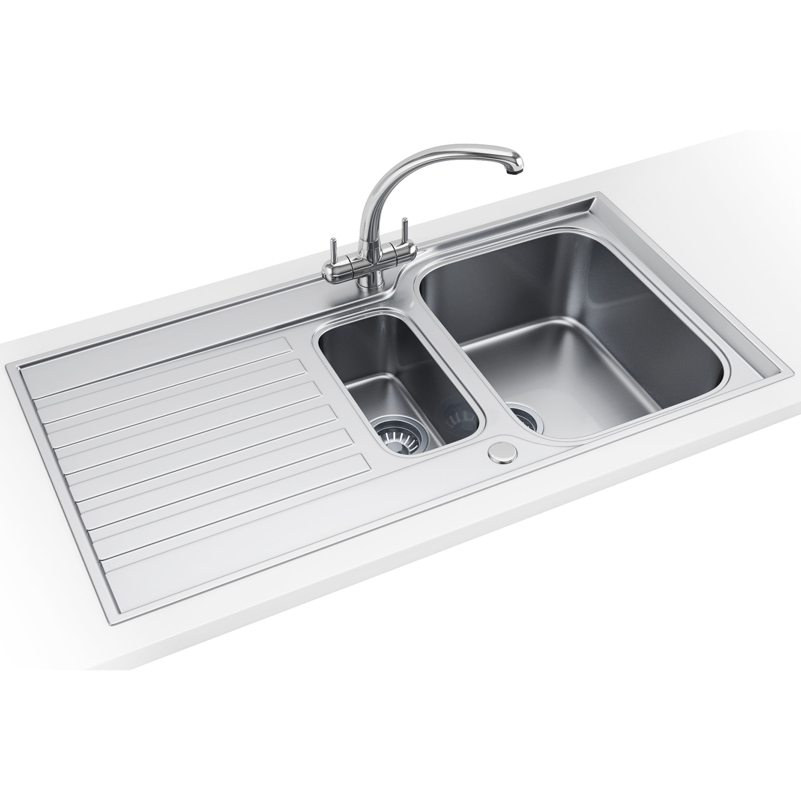 Franke Ascona Propack ASX 651 Stainless Steel Kitchen Sink And Tap ...
