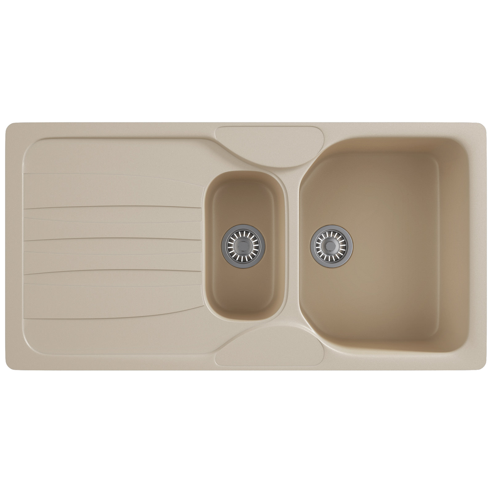 Franke Calypso Sink : Franke Calypso COG 651 Fragranite Coffee 1.5 Bowl Inset Sink 114 ...