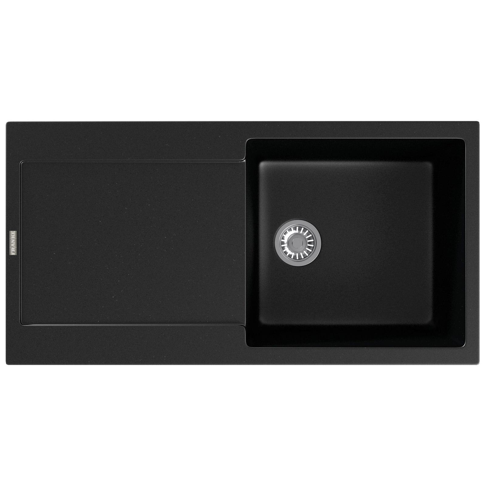 franke maris mrg 611 fragranite onyx 1 0 bowl inset sink. Black Bedroom Furniture Sets. Home Design Ideas