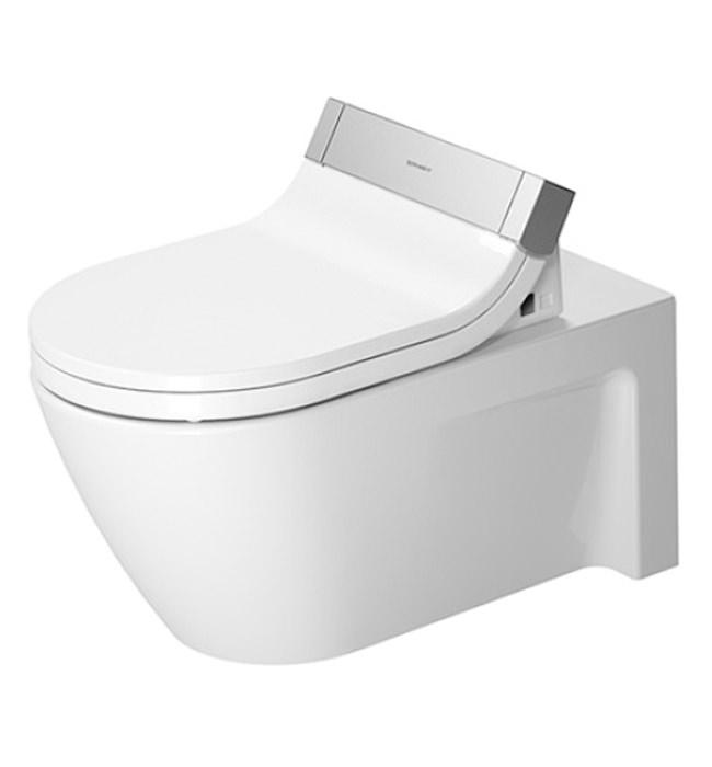 duravit sensowash seat with starck 2 wall mount wc pan 610001002004300. Black Bedroom Furniture Sets. Home Design Ideas