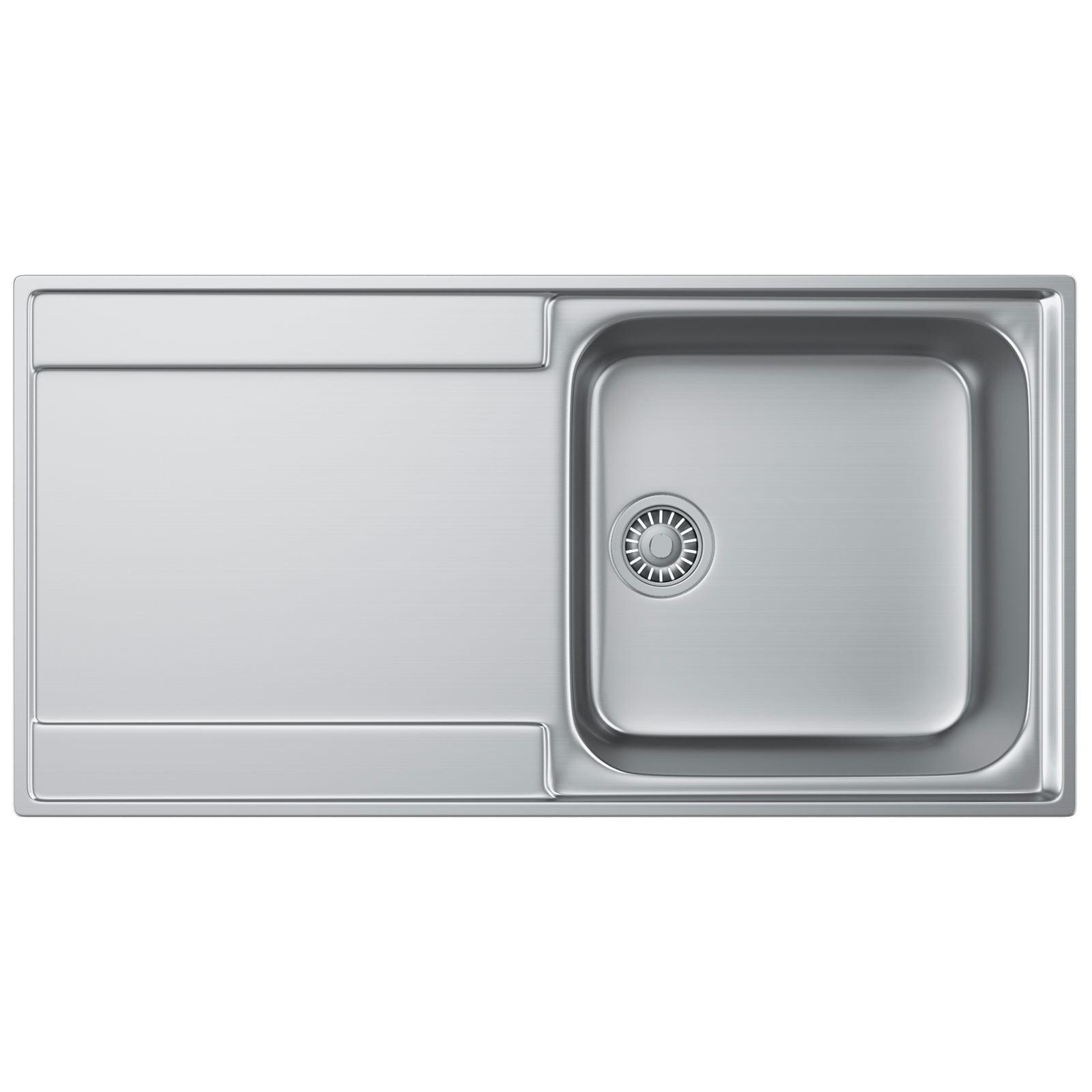 Franke Sink Tops : Franke Maris Slim-Top MRX 211 Stainless Steel 1.0 Bowl Kitchen Inset ...