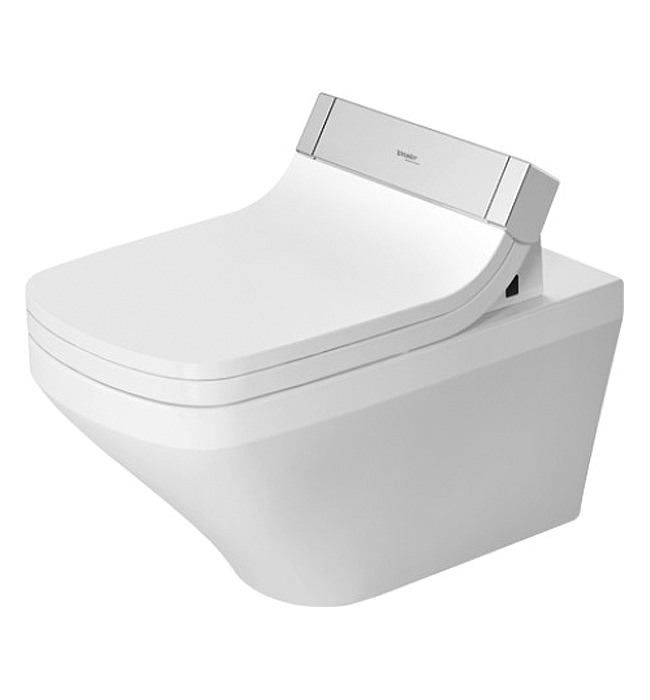 Duravit Sensowash Seat With Wall Mounted Washdown Toilet