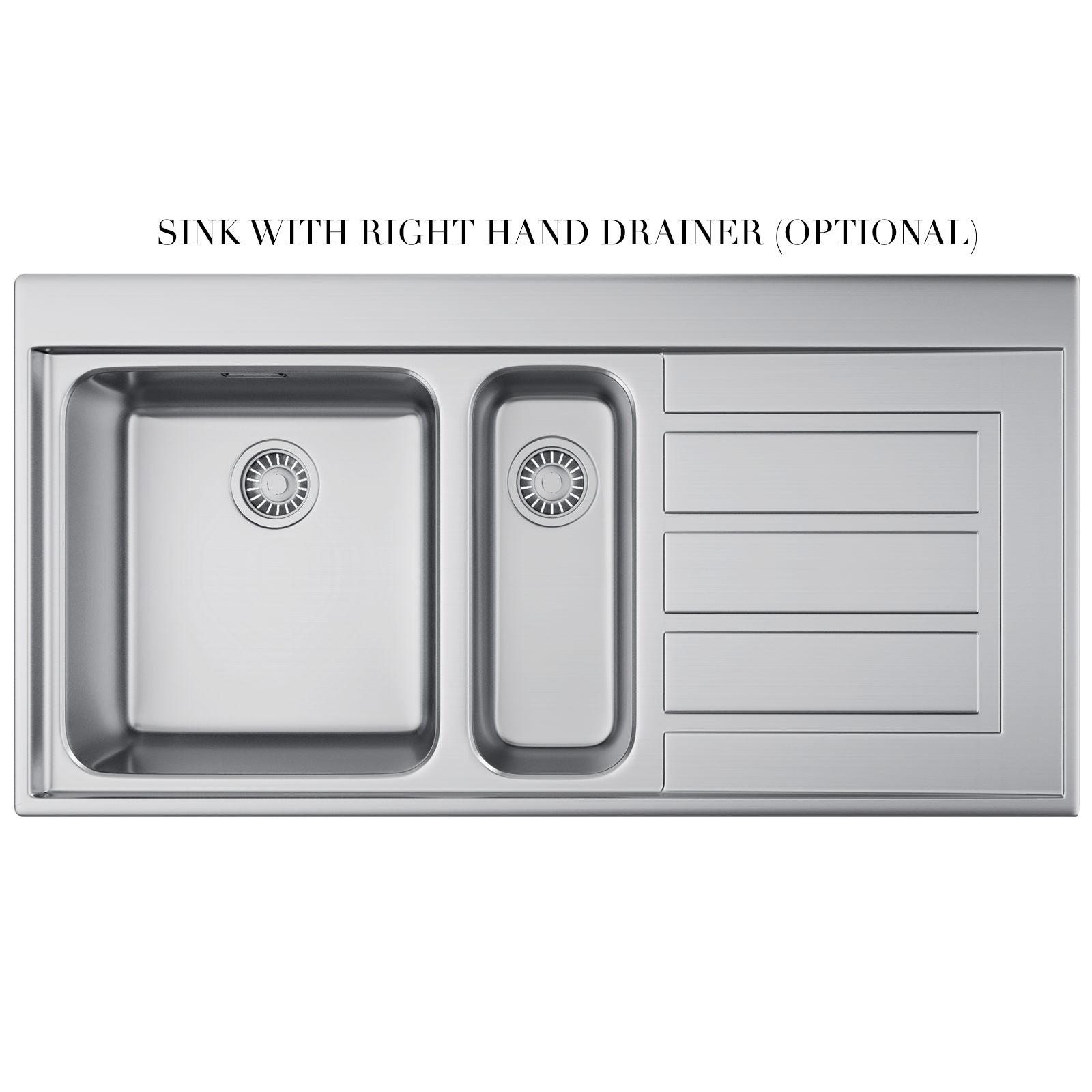 Franke 651 Sink : ... of Franke Epos EOX 651 Stainless Steel 1.5 Bowl Kitchen Inset Sink